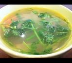 にんじんとごぼうのしょうがスープ