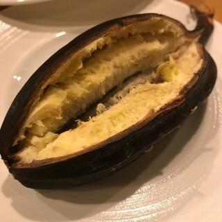 調理用バナナのホイル焼き