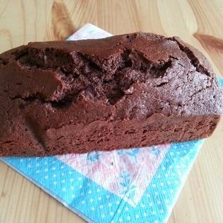 ホットケーキミックスでチョコパウンドケーキ★