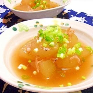 冬瓜の冷たい煮物◇桜海老風味