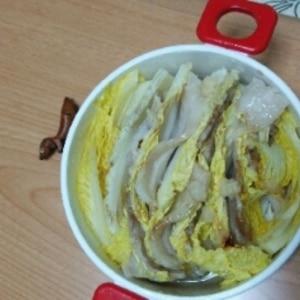 レンジで簡単☆豚肉と白菜の重ね蒸し☆