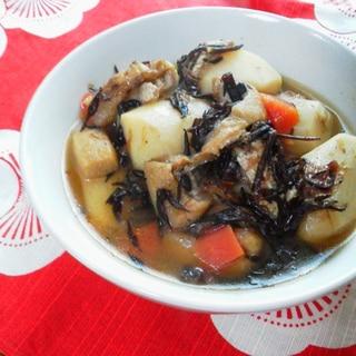 里芋とひじきのおかか煮