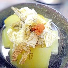 さっぱり美味しい☆冬瓜の梅煮