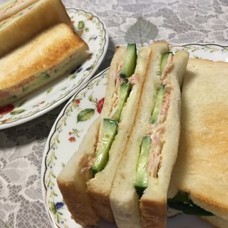 ★トーストツナサンド★