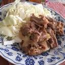豚肉のソテー☆カレー風味