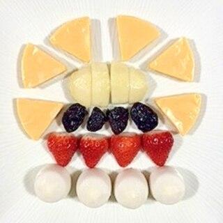 チーズボールとチェダーチーズのオードブル