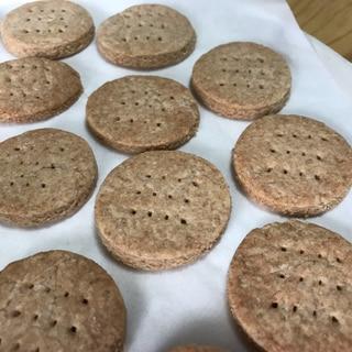 簡単な分量で!全粒粉クッキー