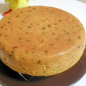 炊飯器で作る ドイツシュトーレン風ケーキ