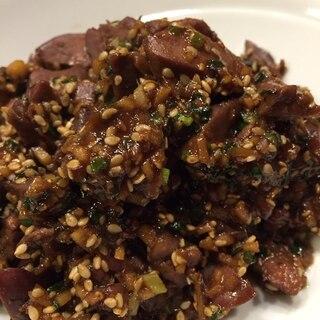 レバー嫌い克服‼️しかも簡単!鶏レバー甘辛炒め煮