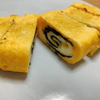 簡単!海苔チーズ卵焼き