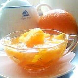 オレンジ&マヌカ・ハニーの美肌ゼリー