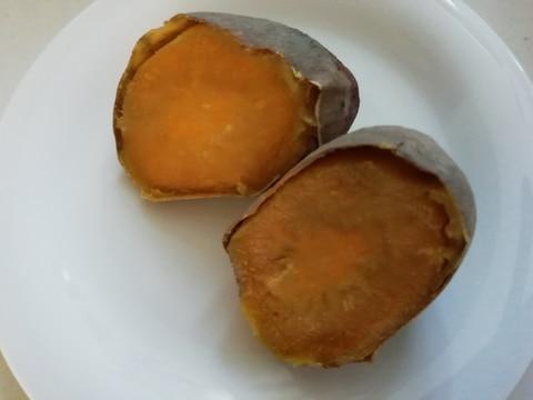 グリルでホクホク焼き芋