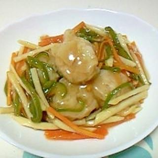 冷凍食品アレンジ!焼売の野菜あんかけ++