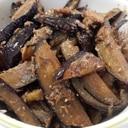 簡単美味しい☆茄子と鯖缶の甘辛ゴマ炒め