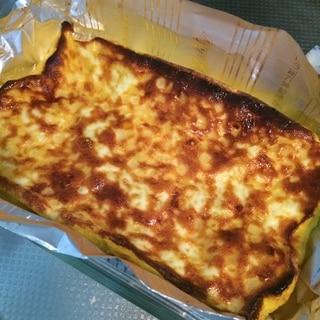 トースターで卵焼き