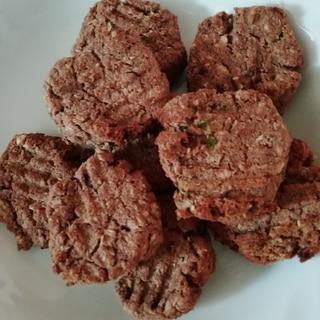 砂糖なしミロのおからクッキー