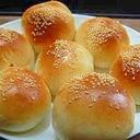 フードプロセッサーのパンの羽根で作るパン