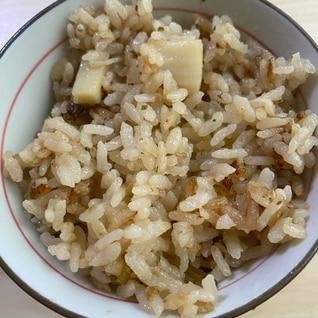 磯の香り ホタテの炊き込みご飯