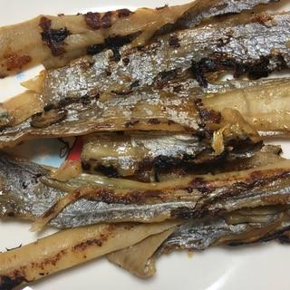 太刀魚の甘辛焼き