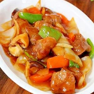 超かんたん♪中華の定番「酢豚」…味は保証付き