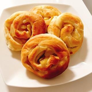ふわふわりんごパン