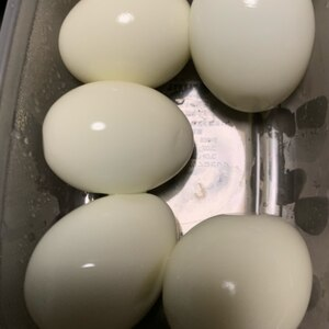 節水・節ガス◎手間要らずで簡単!ゆで卵の作り方