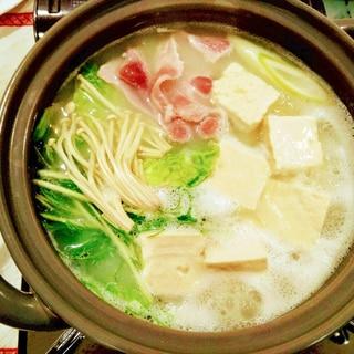 嬉野温泉湯豆腐で豚しゃぶ鍋❣