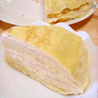 ホットケーキミックスで★ミルクレープ