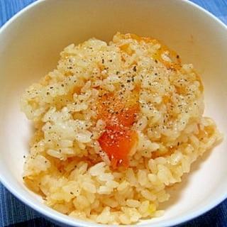目からウロコ!トマト丸ごと炊き込みご飯