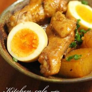 鶏肉と大根の甘辛煮