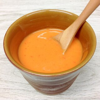 パプリカとカリフラワーのスープ