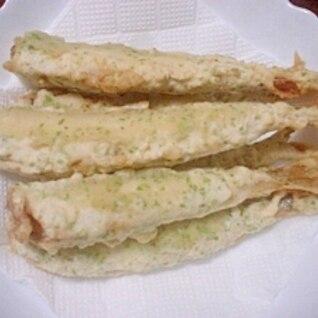 チカの天ぷら~☆