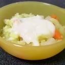 離乳食☆ホワイトソースがけお野菜