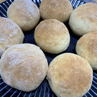 HMとヨーグルトで簡単焼きたてパン♪