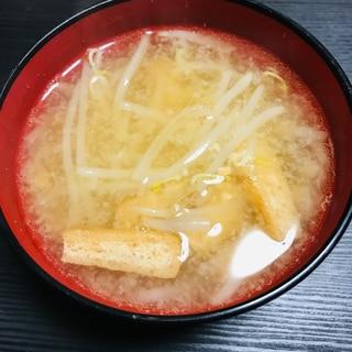 白だしを使った味噌汁
