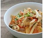 揚げ豆腐とたっぷりの野菜とろとろ煮