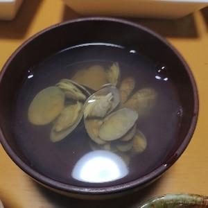 15分で砂抜き!当日間に合う!蛤のお吸い物(潮汁)