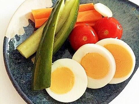 卵入りピクルス