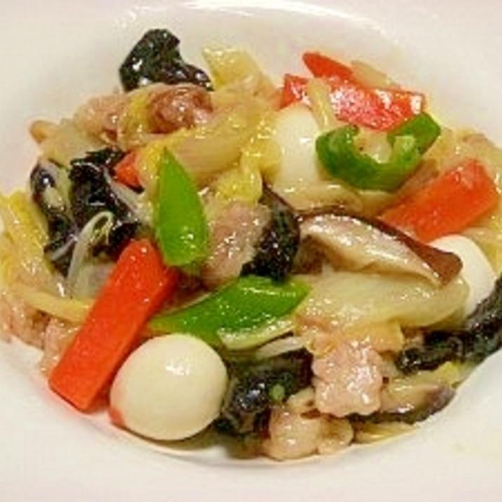 和風ダシで☆野菜たっぷり餡かけ