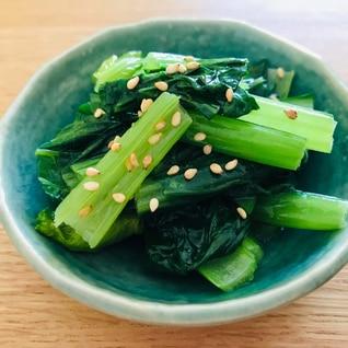ダシダで作る!しゃきしゃき小松菜のナムル