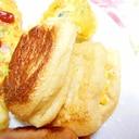 大人味❤油揚げと餅とコーンと山葵マヨネーズ焼き❤