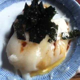 マーガリン醤油de磯部餅