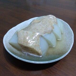 大根のスープ煮 梅おかかマヨディップ添え
