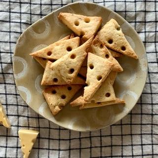 さくさく!見た目も可愛い♡チーズクッキー