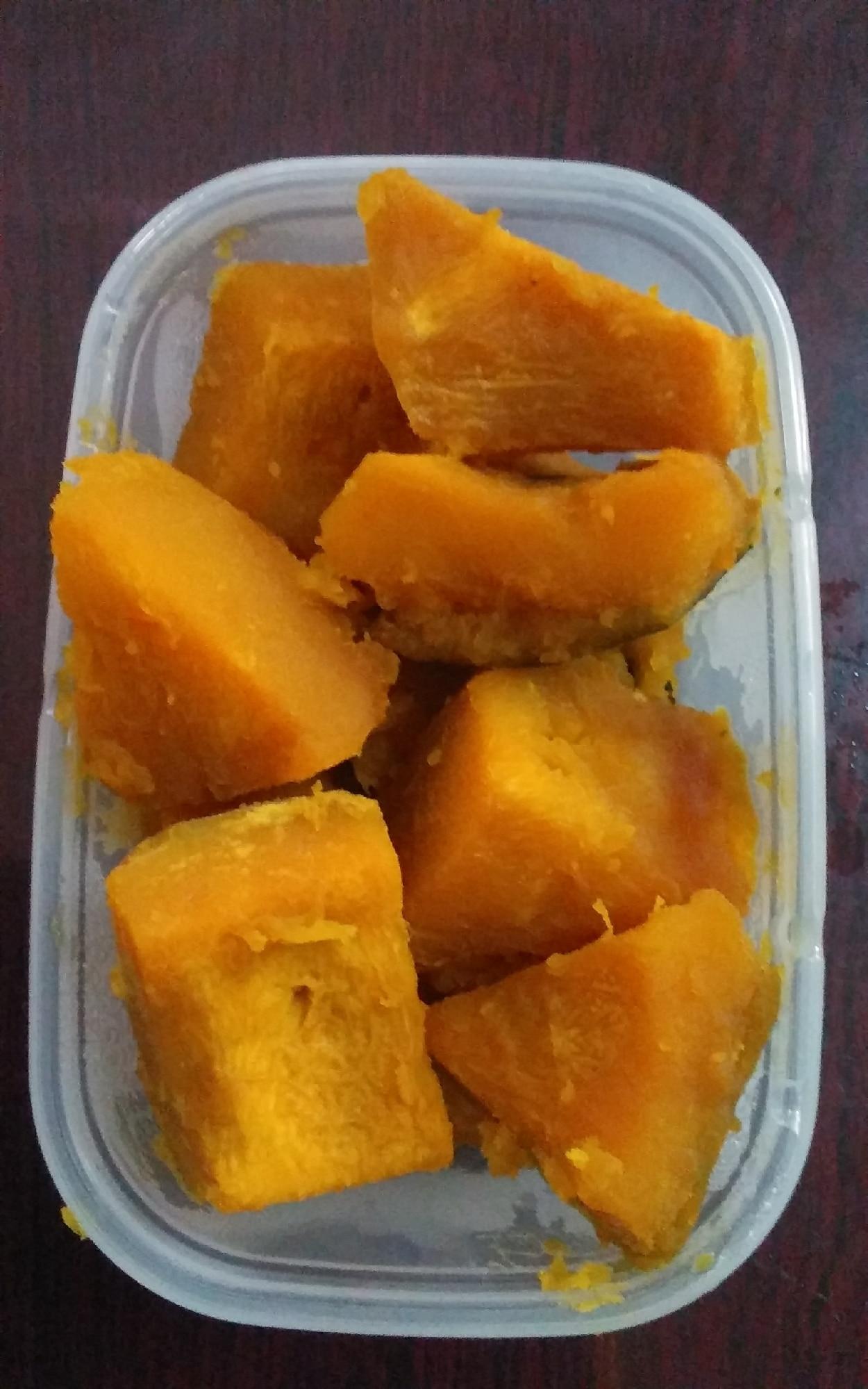 冷凍 煮物 かぼちゃ の