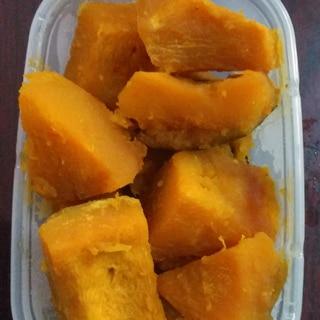 冷凍かぼちゃの簡単煮物♪