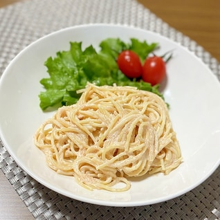 お子様でも大丈夫♪明太子スパゲティサラダ
