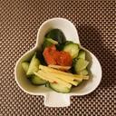 さっぱり副菜⭐きゅうりと生姜の梅和え