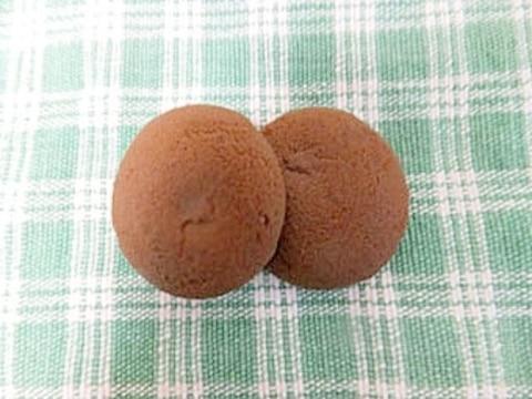 HMで簡単ココアクッキー