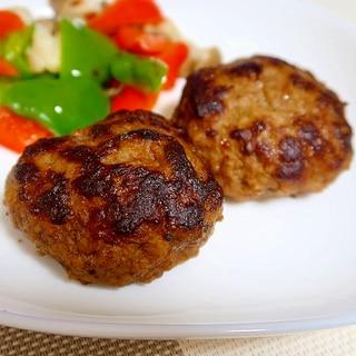 トリプル・ハンバーグ☆牛肉・豚肉・鶏肉☆三種混合